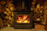 The Old Stables Wood Burner